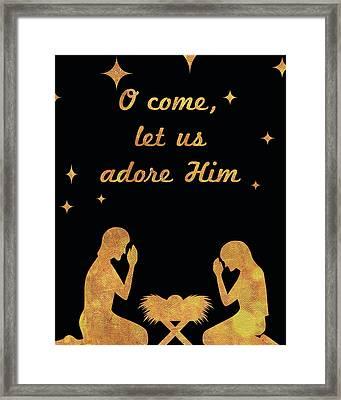 O Christmas I Framed Print