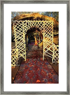 Oasis Tombouctou Framed Print
