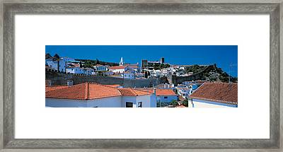 Obidos Portugal Framed Print by Panoramic Images