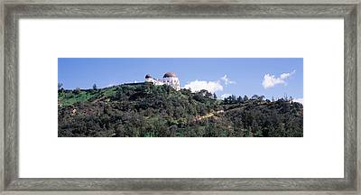 Observatory On A Hill, Griffith Park Framed Print