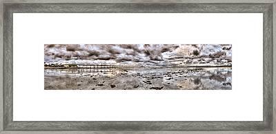 Ocean Beach Pier Series Framed Print by Josh Whalen
