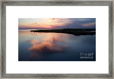 Ocean City Md  Framed Print by Eric  Schiabor