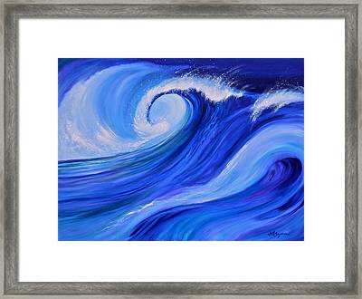 Ocean Emotion #1 Framed Print