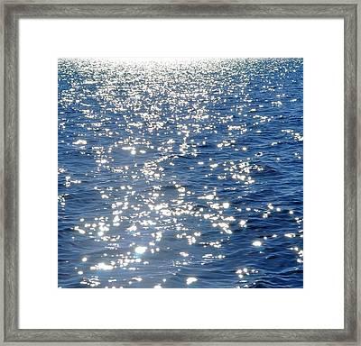 Ocean Framed Print by Ernesto Cinquepalmi