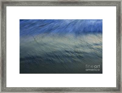 Ocean Impressions Framed Print