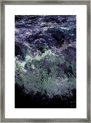 Ocean Series 11 Framed Print by Franco Timitilli