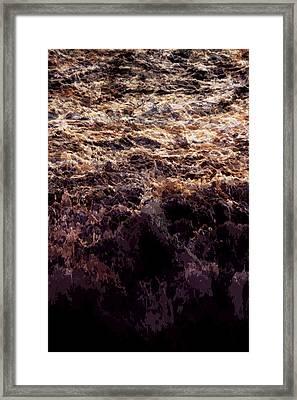 Ocean Series 3 Framed Print by Franco Timitilli