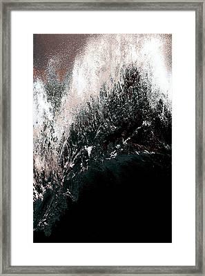 Ocean Series 34 Framed Print by Franco Timitilli