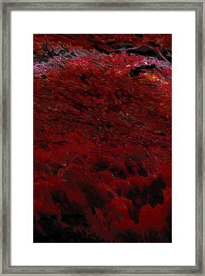 Ocean Series 6 Framed Print by Franco Timitilli