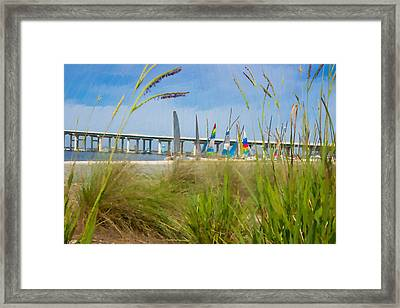 Ocean Springs Yacht Club Framed Print