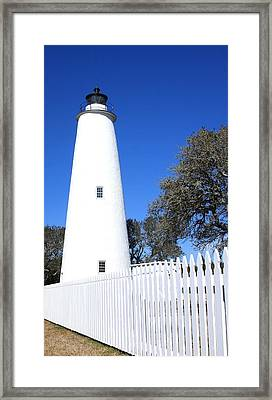 Ocracoke Lighthouse North Carolina Framed Print