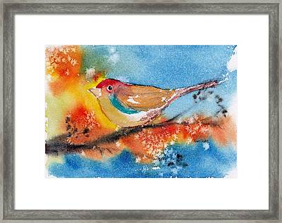 Framed Print featuring the painting October Third by Anne Duke