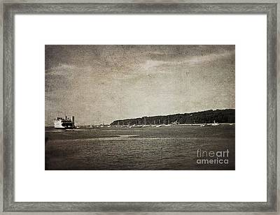 Off To Connecticut Framed Print by Paul Cammarata