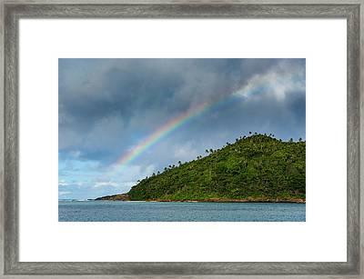 Ofu Island, Manu'a Island Group Framed Print by Michael Runkel