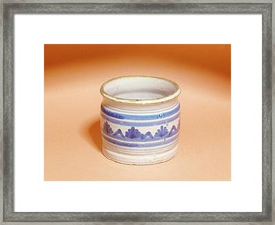 Ointment Pot Framed Print