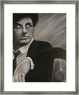 Ol' Blue Eyes Framed Print by Matthew Young