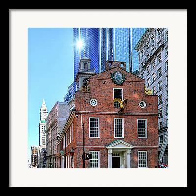 Exchange Place Framed Prints