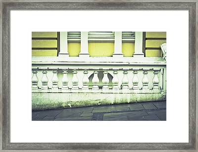 Old Architecture Framed Print