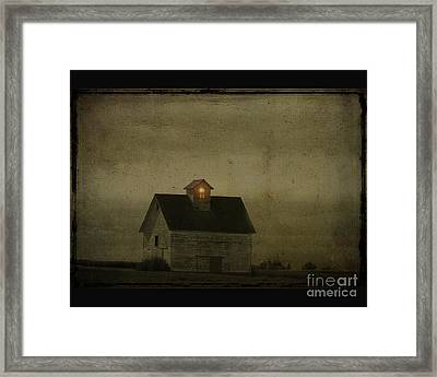Old Barn Framed Print by Jim Wright