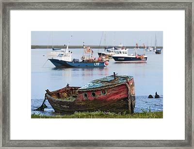 Old Boat Framed Print by Svetlana Sewell