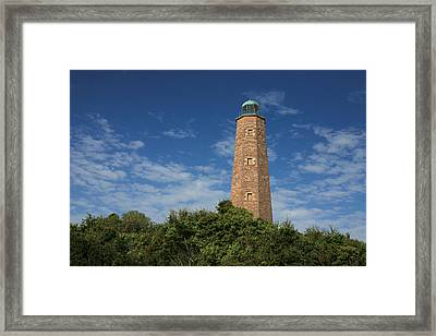 Old Cape Henry Lighthouse Framed Print by JC Findley
