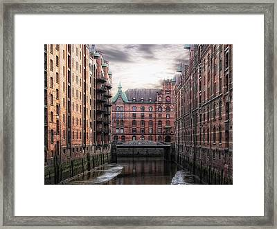 Old Hamburg Framed Print by Joachim G Pinkawa