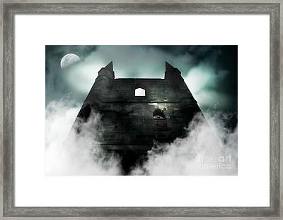 Old Haunted Castle Framed Print