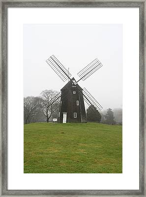 Old Hook Mill Framed Print