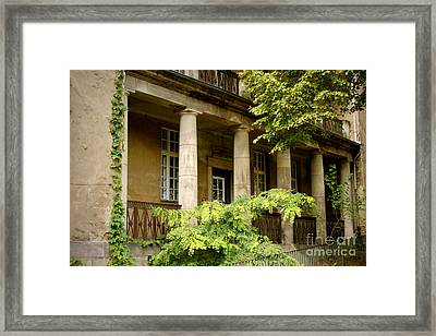 Framed Print featuring the photograph Old Hospital In Berlin Buch by Art Photography