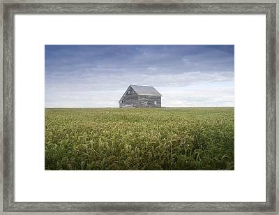 Old House, Manitoba, Canada Framed Print