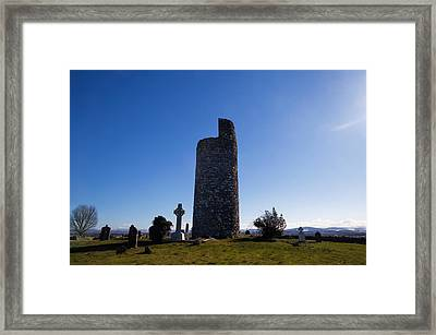 Old Kilcullen Round Tower, County Framed Print