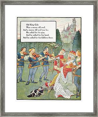 Old King Cole Framed Print by Granger
