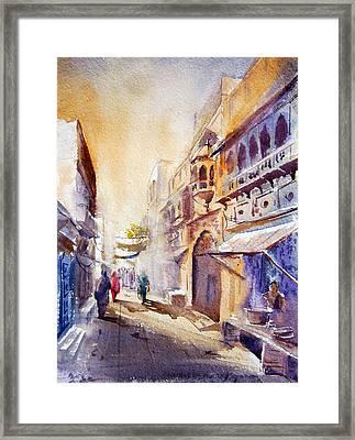 Old Lahore Framed Print by M Kazmi