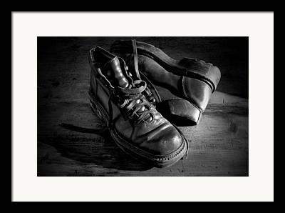 Old Shoe Framed Prints
