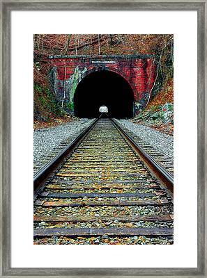 Old Main Line Framed Print by Mike Flynn