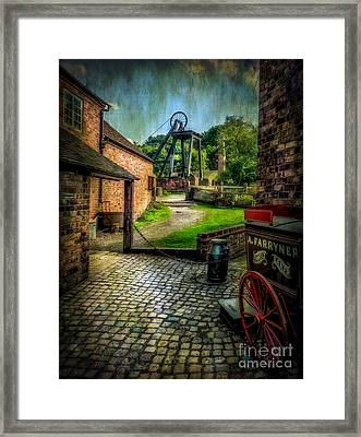 Old Mine Framed Print by Adrian Evans
