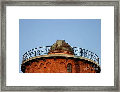 Framed Print featuring the photograph Old Observatory by Henrik Lehnerer