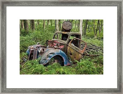 Old Pickup Framed Print
