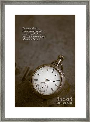 Old Pocket Watch Framed Print