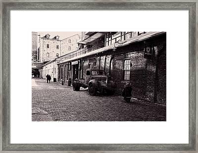 Old Rusty Framed Print by Nicky Jameson