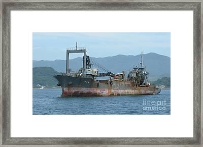 Old Ship Framed Print