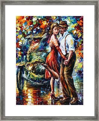 Old Tango Framed Print