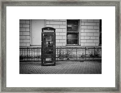 Old Telephone Box Framed Print