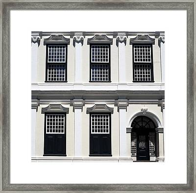 Old Town House Framed Print by Shaun Higson