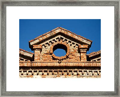 Olive Oil Factory Architecture Detail Framed Print by Leyla Ismet