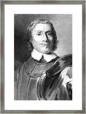 Oliver Cromwell Framed Print by Collection Abecasis