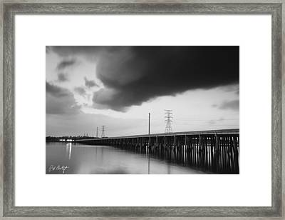 Ominous Cloud Framed Print by Phill Doherty