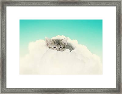 On Cloud Nine Framed Print