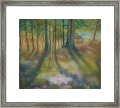 On Mossy Ground II Framed Print