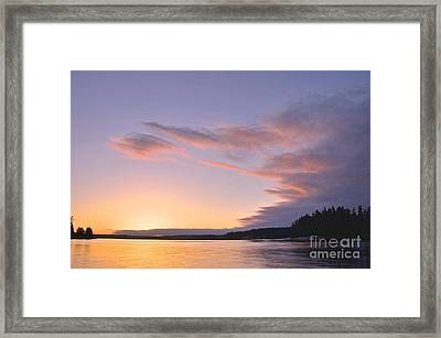 On Puget Sound - 2 Framed Print